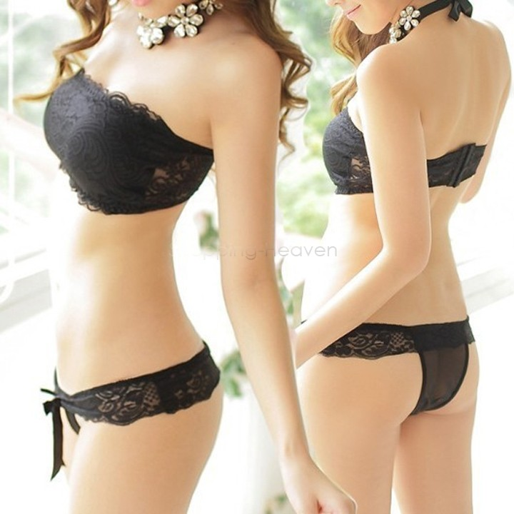 Good Price Lace Bra Sets Sexy Women Bra Underwear Set Push Up Bra ...
