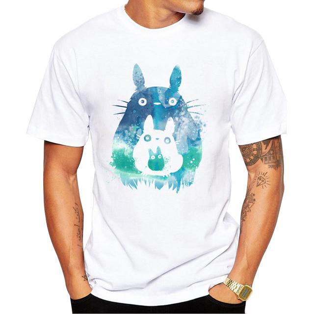 Printed Totoro T-shirt
