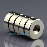 10pcs N50 Super Strong Round Neodymium Countersunk Ring Magnets 30 x 10 mm Hole: 6mm Rare Earth Wholeslae