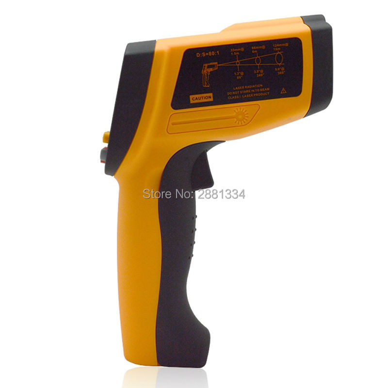 Handheld Infrared IR Thermometer GM2200 Temperature Range 200~2200 C 0.1 To 1.00 Adjustable Temperature Meter Tester (6)