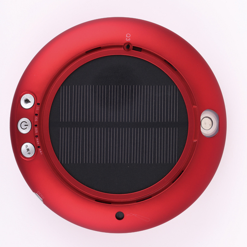 Solar Car Air Purifier Aroma essential oil Humidifier Mist maker LED light For Car Home Office Anion aseptic Air Cleaner 4 Color