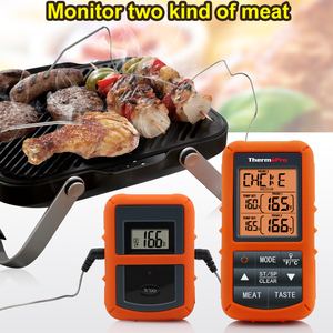 Image 3 - Original ThermoPro TP 20S Remote Wireless Digital BBQ, Oven Thermometer Home Use Stainless Steel Probe Large Screen with Timer