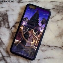 KETAOTAO Sword Art Online SAO Anime Manga Phone Cases for iPhone 4 5C 5S 6S 7 8 Plus X for Samsung Case Soft TPU Rubber Silicone(China)