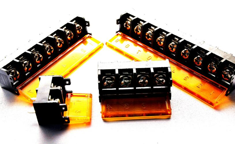 10x Terminal Block Connector Cover 9.5mm HB9500-2 Pins