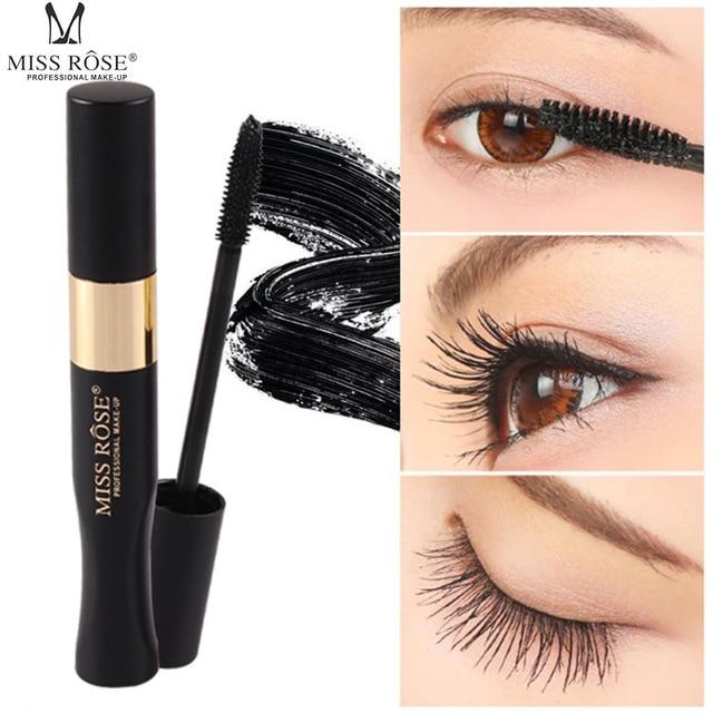 b9da8c882ec0 US $3.18 35% OFF|4D Silk Fiber Lash Mascara Waterproof Rimel 3d Mascara For  Eyelash Extension Black Thick Lengthening Eye Lashes Korean Cosmetics-in ...