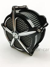 Мотоцикл Воздухоочиститель Впуска Фильтр Системы комплекты Для Harley Touring Dyna Softail Springer Наследия FXST Electra Glide дорожного 93-15