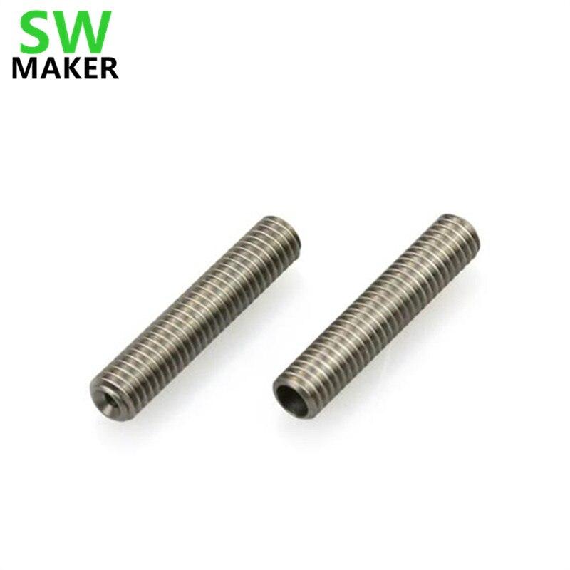TUBO mk8 BARRIERA TERMICA CON ISOLAMENTO PTFE per 1.75mm Reprap filamento