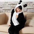 Envío libre Encantador de Los Cabritos panda monster Unisex Niños jumpsuit Pijamas Anime Cosplay Costume Onesie