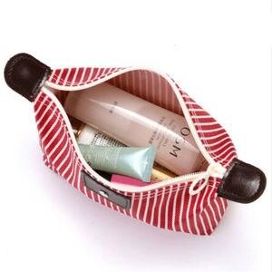 Image 5 - Sac de rangement rayé pour lavage du maquillage