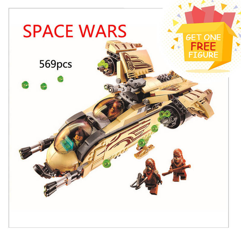 Bela Pogo Compatible Legoe BL10377 Star Wars Building Blocks Bricks gift for kid plane UFO Toy toys for children 2016 499pcs bela 10376 new star wars at dp building blocks toys gift rebels animated tv series compatible