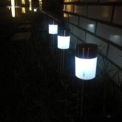 Stal nierdzewna zewnętrzna Led lampa słoneczna zewnętrzna energia słoneczna Decking light wodoodporna IP65 pejzaż z ogrodem trawnik lampa słoneczna