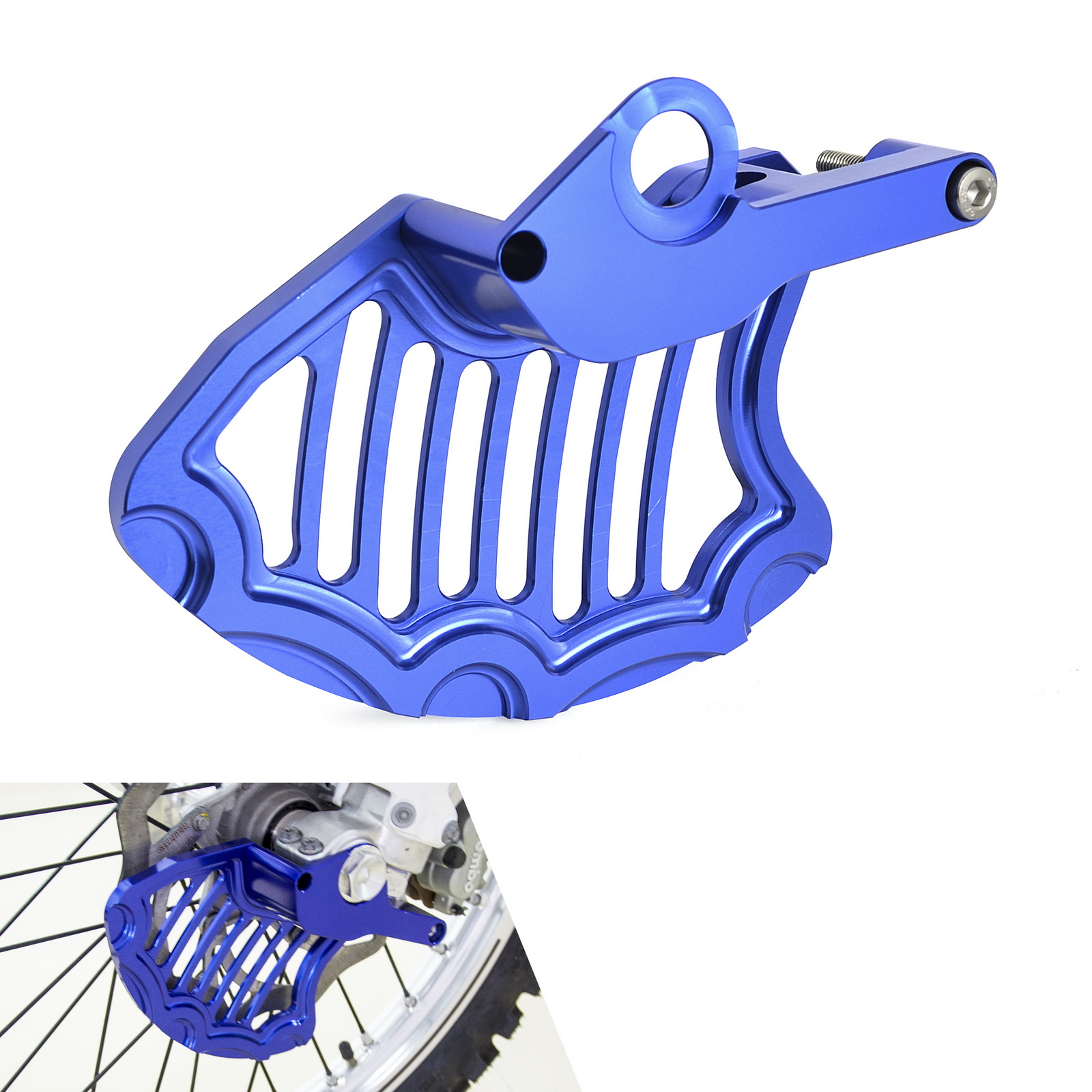 Motorcycle Front Brake Disc Rotor Protector Guard For <font><b>Husqvarna</b></font> FE FC <font><b>TE</b></font> TC FX 125 200 250 <font><b>300</b></font> 350 450 501 2016 2017 2018 <font><b>2019</b></font> image