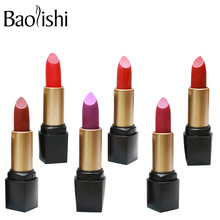 Get more info on the baolishi new Lipstick Moisturizer Smooth Lip Stick Long Lasting Charming Lip matte Lipstick Cosmetic Beauty brand Makeup
