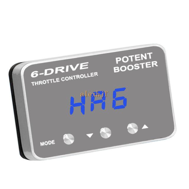 TROS Booster Potente II 6 Drive Controller Electrónico Del Acelerador TS-151L caso para nuevo Audi A8, VW Santana Zhijun, Santana, Touareg