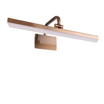 Mirror Headlight Led wall light Cabinet Lamp TOILET Makeup Iron Art Electroplate Mirror Headlight gold wall lamps ZA323617