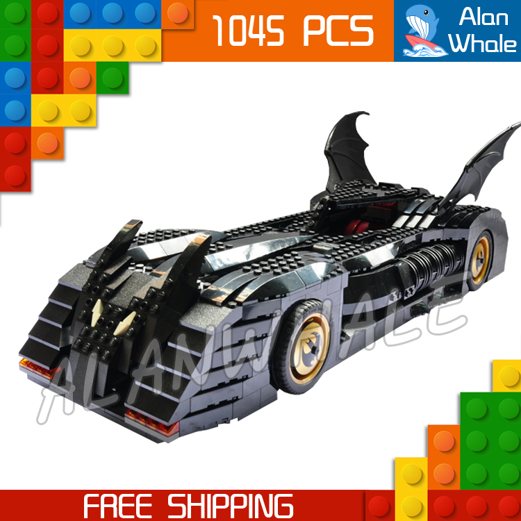 1045pcs Super Heroes Batman Batmobile Ultimate Collectors' Edition Set 7116 Model Building Block Toys Brick Compatible With lego loz dc comics super heroes mini diamond building block batman