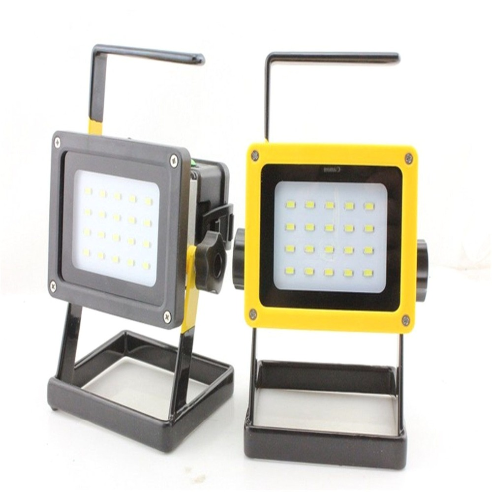 все цены на 20*SMD LED Spotlight Flood Light Searchlight 18650 Rechargeable Battery Camping Outdoor Sport Fishing Flashlight and Charger онлайн