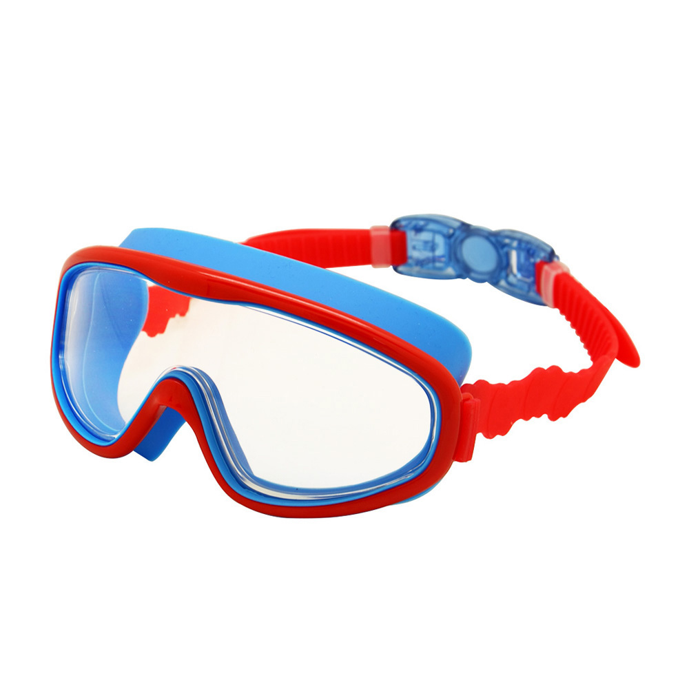 49becbd9e863 Kids Swim Goggles Children 3-8Y Wide Vision Anti-Fog Anti-UV Snorkeling