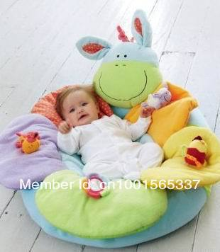 1pcs/lot  In Stock Free Shipping ELC Blossom Farm Sit Me Up Cosy-Baby Seat,Baby Play Mat/Small Baby game pad Come with Pump
