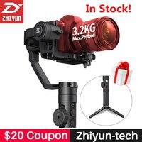 Zhiyun Gru 2 Palmare 3-Axis Camera Stabilizer Follow Focus Gyro Gimbal per DSLR Mirrorless Camera per Nikon Canon 5D2/5D3/5D4