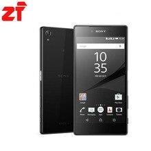 Новый Sony Xperia Z5 Премиум e6883 двойной оригинальный разблокирована GSM 4 г LTE Android Dual SIM Восьмиядерный Оперативная память 3 ГБ Встроенная память 32 ГБ E6883 WI-FI GPS