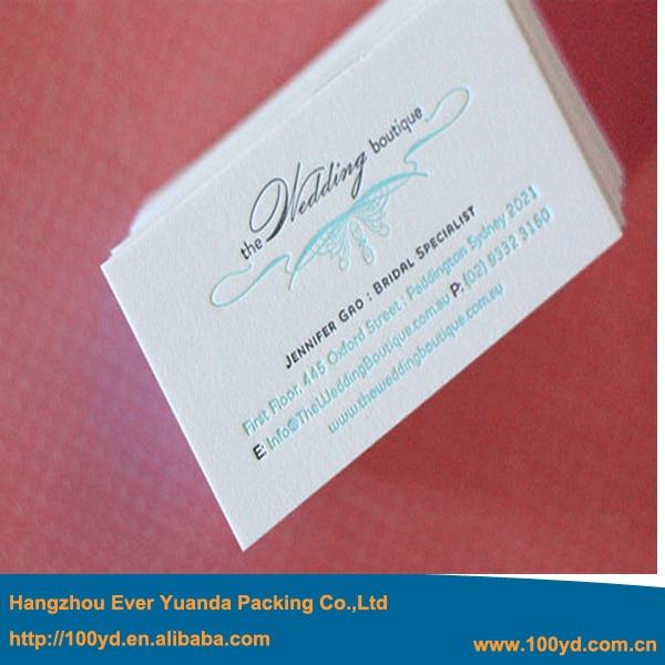 Livraison Gratuite Nouvelle Conception De La Beaut Impression Carte Visite Papier Coton Blanc Fond