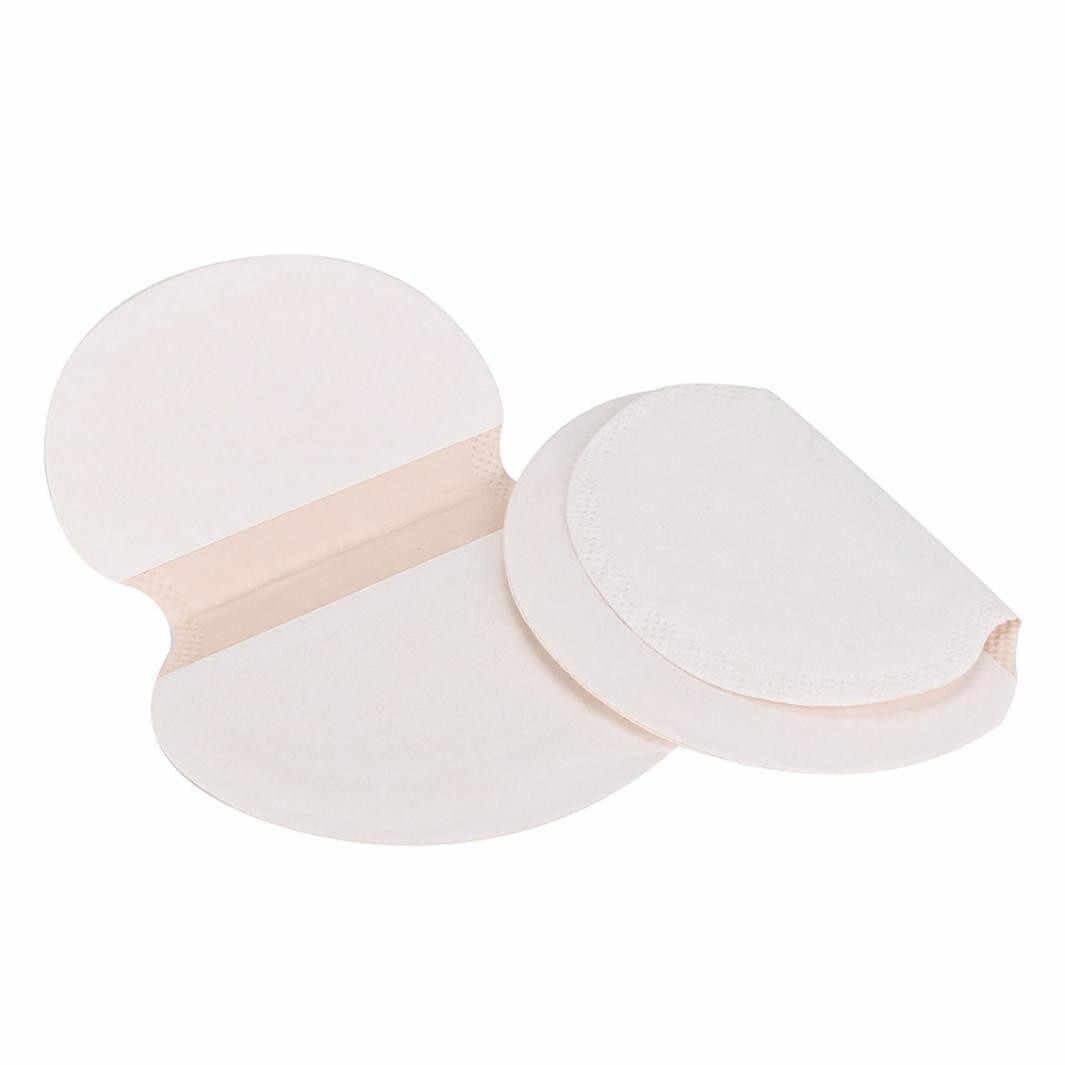 สุขภาพความงามผู้หญิง Lady 10/16/20PC Underarm กาวเหงื่อ Pad รักแร้ Goodbye Antiperspirant Deodorant 45