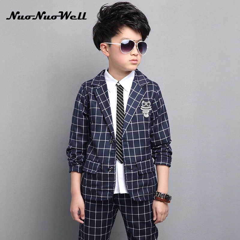 NNW 2018 New Children's Blazers Suit Wedding Suits Party Boys Dresses Teenager Boys Gentle Suits Coat + Pant 2Pcs Kid Sets vowel tajweed rules recognition using nnw