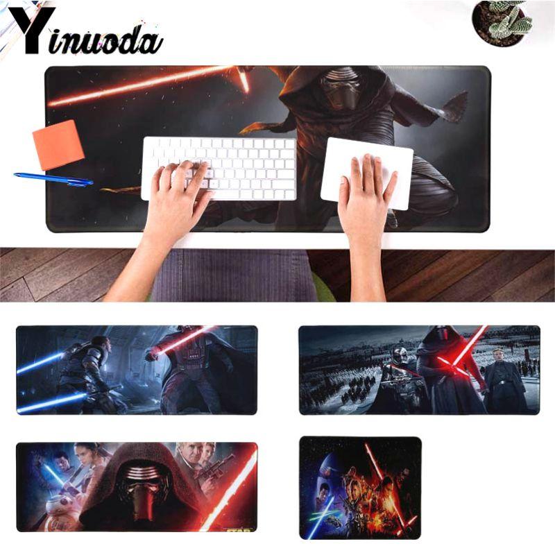 Yinuoda Одежда высшего качества Звездные Войны Пробуждение силы большой Мышь pad PC компьютер коврик Размеры для 18x22 см 20x25 см 25x29 см 30x90 см 40x90 см