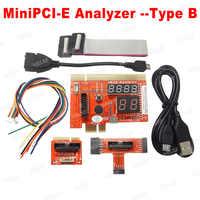 2019 NEW 4-in-1 PCI PCIE LPC MiniPCI-E Analyzer Motherboard Diagnostic Tester Diagnostic Analyzer for PC Laptop and Desktop