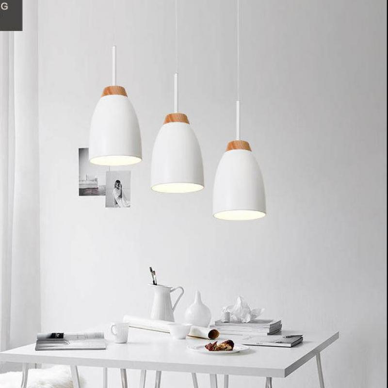 Italy pendant 3 heads iron wood lights for study room Kitchen Long suspension metal cover pendant Lights E27 home life lightingItaly pendant 3 heads iron wood lights for study room Kitchen Long suspension metal cover pendant Lights E27 home life lighting