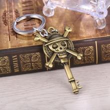 Une pièce Luffy chapeau porte-clés une pièce mille ensoleillé Pirate bateau jouet bannière pendentif une pièce Anime porte-clés