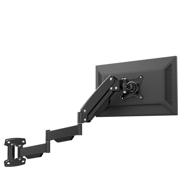 Merveilleux LG312B Ultra Long Gas Spring TV Wall Mount Monitor Rack Holder Retractable  Rotation LCD Mount 17