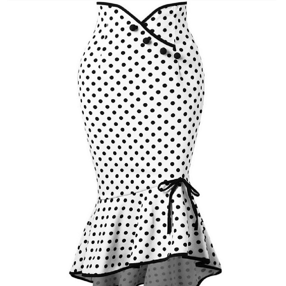 cabc35c5c7 Polka Dot Pencil Skirt - ADORABLE STUFF