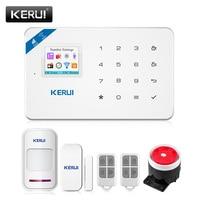 2017 W18 WIFI GSM SMS Home Burglar Security Alarm System PIR Motion Detector APP Control Sensor