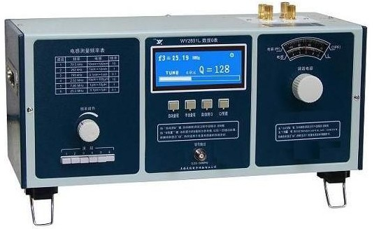 Fast arrival WY2851L Digitel Q Meter Measure inductance special 50KHz-50MHz in 6 ranges 4 LEDs display