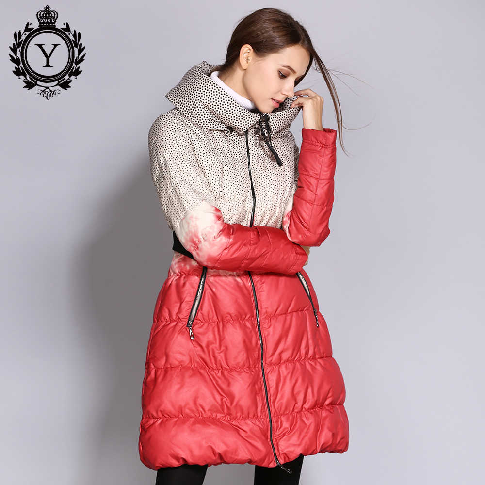 COUTUDI Hot Warm Down Jackets Women's Plus Size Winter
