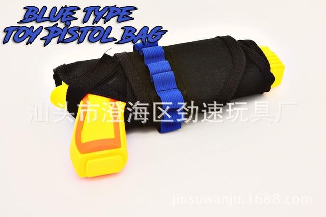 Toy Gun Pistol bag For Nerf Gun Orbeez Gun Can hold paintball soft bullet  Outdoor game