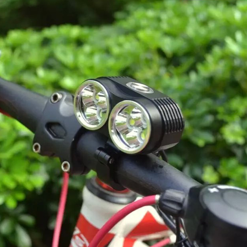 10000 Lumens Bike Light 6 x XML-T6 Led Bicycle Front Light Mountain Cycling Lamp Frame Headlight With 8.4v 6800mAh Battery Pack 12000 lumens bike light 7x xm l t6 front bicycle light rechargeable cycling headlight mountain bike lamp with 18650 battery pack