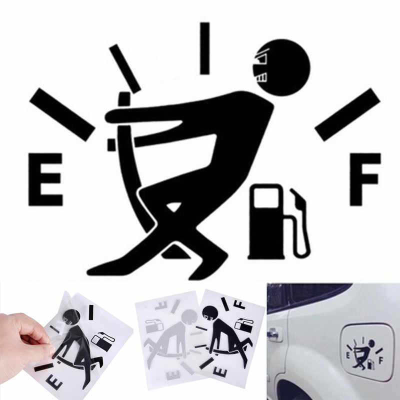 1Pc Waterproof Funny Car Sticker Lowered Truck Boat Window Bumper Vinyl Decal