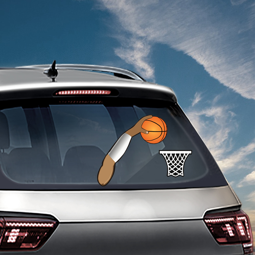 Rear Windshield Wiper >> Tancredy Dunking Waving Wiper Decals Pvc Car Styling Rear Window Wiper Stickers Rear Windshield Stickers Car And Decals