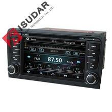 Regalos! 7 Pulgadas de Coches Reproductor de Audio Para Audi Memoria Radio de Navegación GPS Bluetooth DVD Para A3 1080 P Ipod Libera El Mapa V-10DC