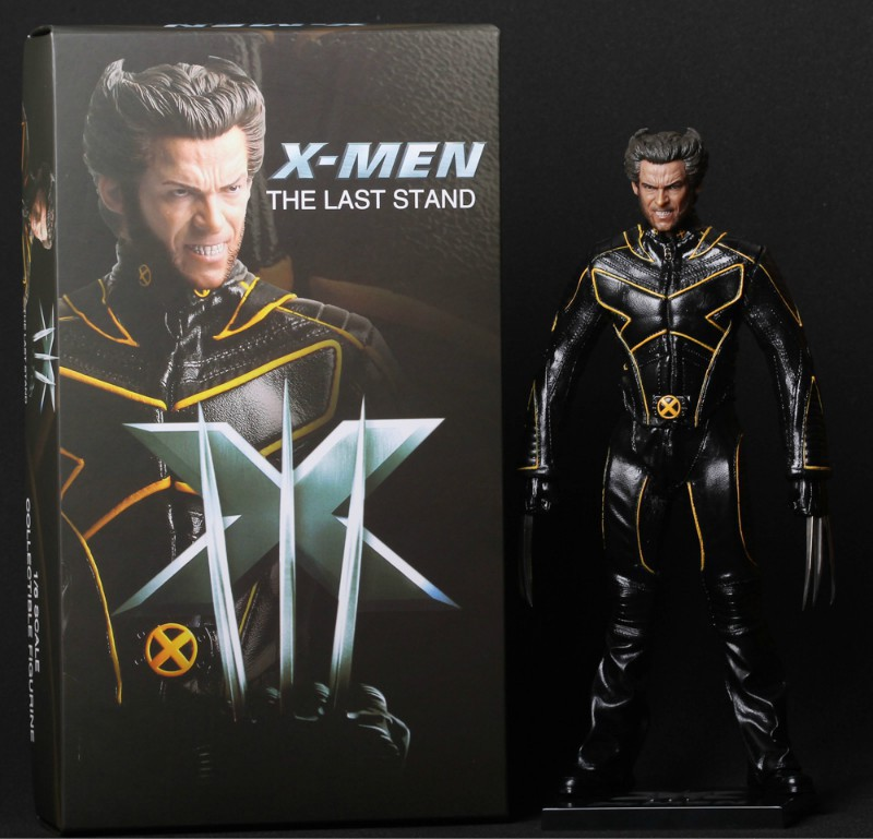 Free Shipping 11.5 X-MEN Movie The Last Stand Wolverine Logan Boxed 29cm PVC Action Figure Collection Model Doll Toy Gift free free free at last