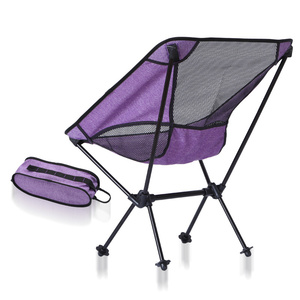 Image 4 - Silla de pesca para interior y exterior, taburete de Camping, muebles de exterior, portátil, púrpura, azul, ligero, 600D, sillas de tela Oxford
