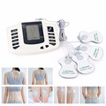 JR-309 Electrical Stimulator Full Body Relax Muscle Massager Pulse Tens Acupuncture Therapy Slipper + 4 Electrode Pads