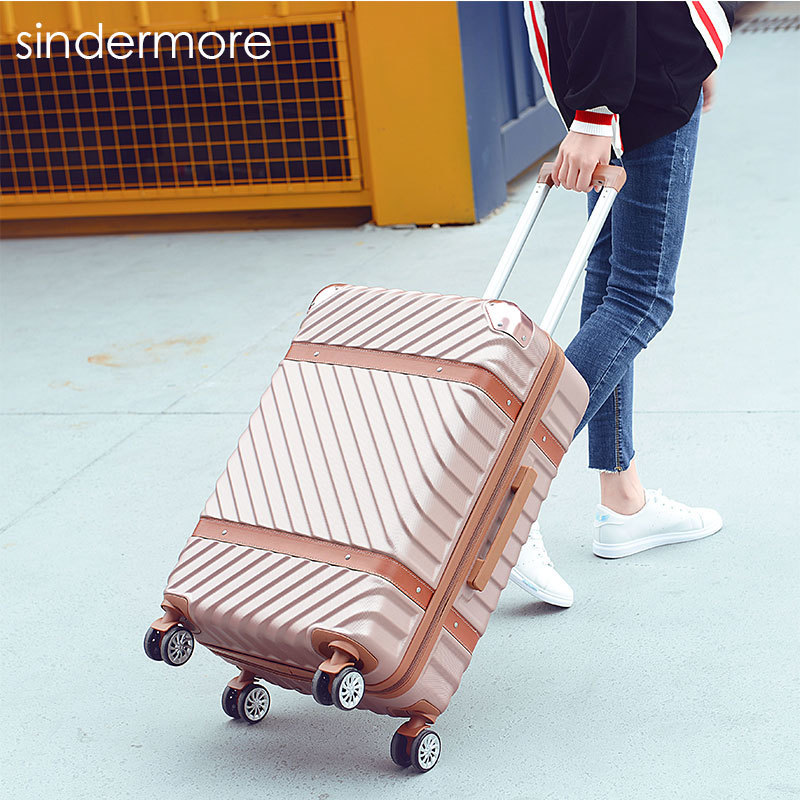 sindermore 20 24 ABS Plastic zipper carry on hardside rolling trolley travel traveling luggage suitcase carry-on 40% off ultrathin led flood light 10w 20w 30w 50w ac85 265v waterproof ip65 floodlight spotlight outdoor lighting free shipping