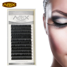 Wholesale 1pc Eyelash Extension 0.05 and 0.07 thickness C,D Curl 8-15mm False Mink Hair Individual Silk Lash