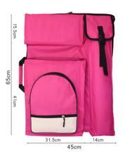 Mode 4 K Nette Kunst Tasche für Zeichnung Werkzeuge Wasserdichte Große Kunst Liefert Tasche Malerei Skizze Tasche Rucksack für Künstler 66*49 CM