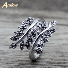 Anslow Brand New Arrival Items Personalized Bijoux Charm Couple Lovers Ancient Retro Engagement Wedding Ring Gift