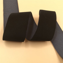 10yards lot 1.5inch 38mm black velvet ribbon single face headband Hair band accessories